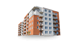 Cegléd 36 lakásos társasház