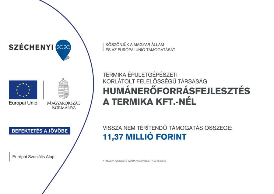 termikakft.hu - VEKOP pályázat